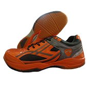 PRO ASE 2015 Badminton Shoe Orange Black and Gray