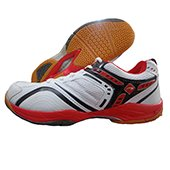 PRO ASE 006 Badminton Shoe White and Red