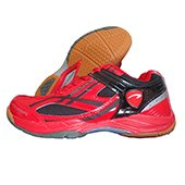 PRO ASE 005 Badminton Shoe Red and Black