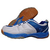 PRO ASE Court Badminton Shoe Blue and White