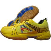 PRO ASE Court Badminton Shoe Yellow