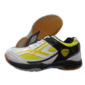 PRO ASE Exceed Plus 505 Badminton Shoe White and Yellow
