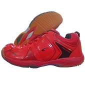 PRO ASE Xtra Cushion Badminton Shoe Red