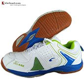 PRO ASE Xtra Cushion BG007 Badminton Shoe White and Green