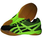 Pro Ase BG 010 Badminton Shoes Black and Green