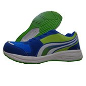 PRO ASE Running Shoes Gray Blue,White and Lime