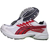 PRO ASE Running Shoes white Red and Black