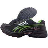 PRO ASE Running Shoes Black and Green