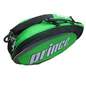 Prince Badminton Kitbag Green and Black