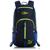 Puma Casual Backpack Blue and Green