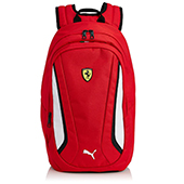 Puma Red White and Black Casual Backpack