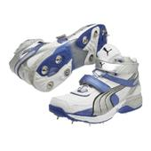 Puma Iridium II Full Spike Mid Cricket Shoes