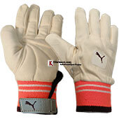 Puma Evo Full Chamois Padded Leather Wicket Keeping Inner Gloves