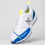 Payntr V Pimple Cricket Shoes White Blue