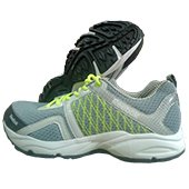 Reebok Smooth Speed Running Shoes Black Gray and Lime