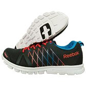 Reebok Pulse Run Fast Running Shoes Black and Red