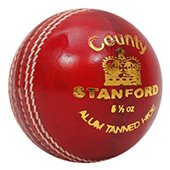 SF County Red Cricket Ball 12 Ball Set