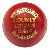 SF County Crown Cricket Ball 12 Ball Set