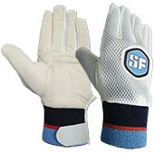 SF Chamois Foam Padded Wicket Keeping Inner Gloves Blue