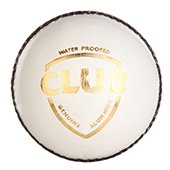SG Club White Cricket Ball 6 Ball set