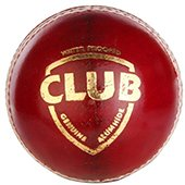 SG Club Red Cricket Ball 6 Ball set