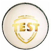 SG Test White Cricket Ball 6 Ball set