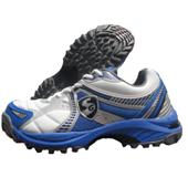 SG Striker Cricket Shoes blue