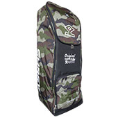Shrey Match Duffle Cricket Kit Bag Camouflage Green