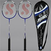 Silvers Smooth 2 set Badminton Rackets