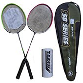 Silvers SB 717 Two set Badminton Rackets