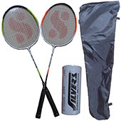 Silvers SB 919 Two set Badminton Rackets