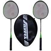 Silvers SB 116 Two set Badminton Rackets
