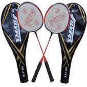 Silvers SB 216 Two set Badminton Rackets