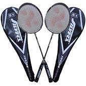 Silvers Fusion Two set Badminton Rackets
