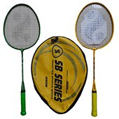 Silvers JB 109 Junior Two set Badminton Rackets