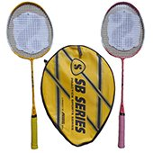 Silvers SB 203 Two set Badminton Rackets