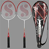Silvers Jb 909 Junior 2 set Badminton Rackets