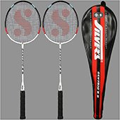 Silvers Centric 2 set Badminton Rackets