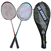Silvers SB 212 Two set Badminton Racket