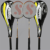 Silvers Legend Power Two set Badminton Racket
