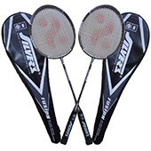 Silvers Fusion Two set Badminton Racket