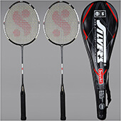 Silvers Suzuki 2 Set Badminton Racket
