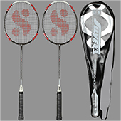Silvers Energetic 2 set Badminton Racket