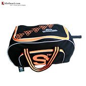 SI Junior Cricket Kit Bag Black and Orange