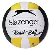 Slazenger Beach Ball Volleyball size 4 White Yellow Blue