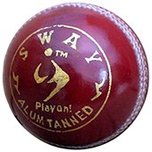 SM Sway Alum Tanned Cricket Leather Balls 6 Ball Set