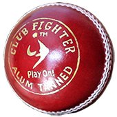 SM Club Fighter Alum Tanned Cricket Leather Balls 24 Ball Set