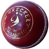 SM Wrecker Alum Tanned Cricket Leather Balls 18 Ball Set