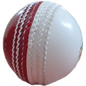 SM Incredible White Cricket Balls 6 Ball Set
