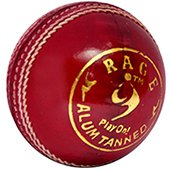 SM Rage Alum Tanned Cricket Leather Balls 6 Ball Set